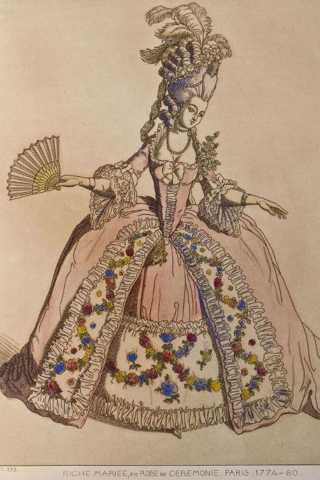 Vestit de cerimònia (1774-80)