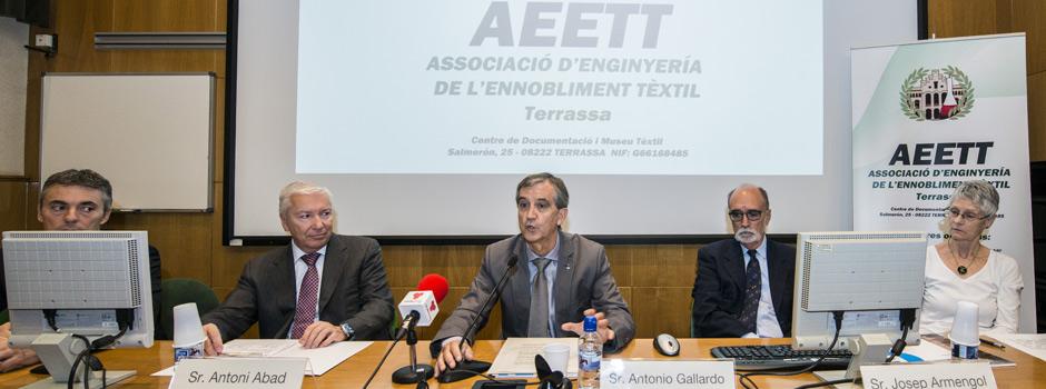 Imatge acte presentació AEETT