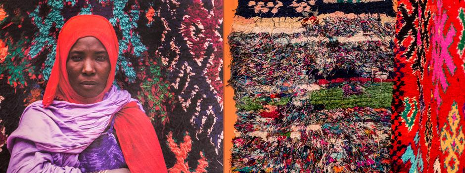 """Imatge exposició """"Marroc, colors del desert"""""""