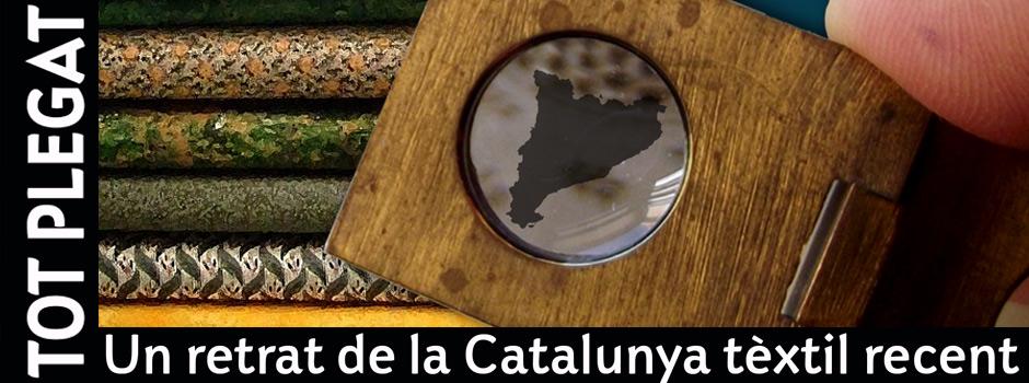 Imatge exposició. Tot plegat, un retrat de la Catalunya Tèxtil recent.