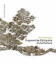 """Portada catàleg exposició """"Fragment de Cal·ligrafia d'una Pomera"""" de Rosa Rodríguez"""