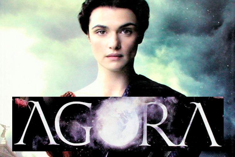 "Detall portada llibre ""Ágora"""