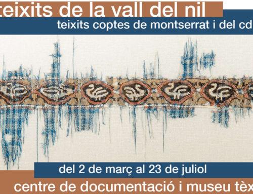 TEIXITS DE LA VALL DEL NIL. Teixits coptes de Montserrat i del CDMT