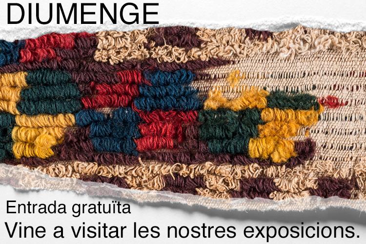 Imatge Diumenges, visita lliure.