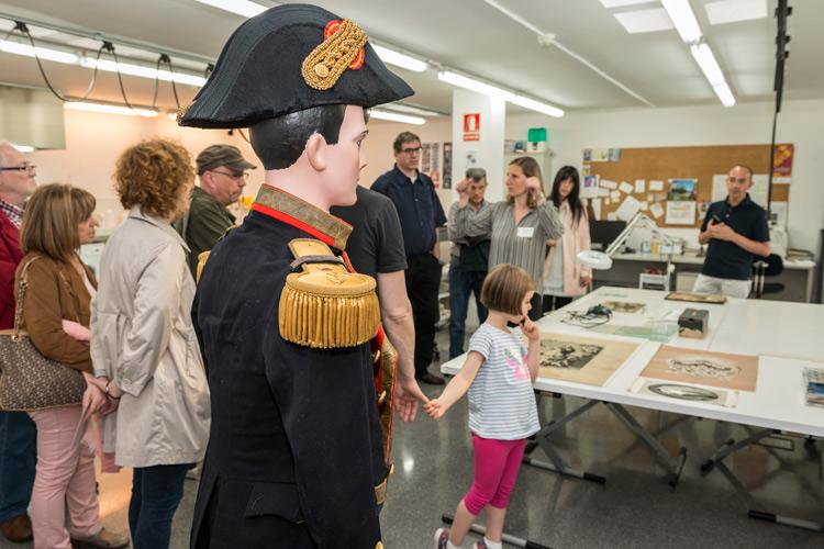 Imatge Nit dels Museus 2017: Portes Obertes al Taller de Restauració.