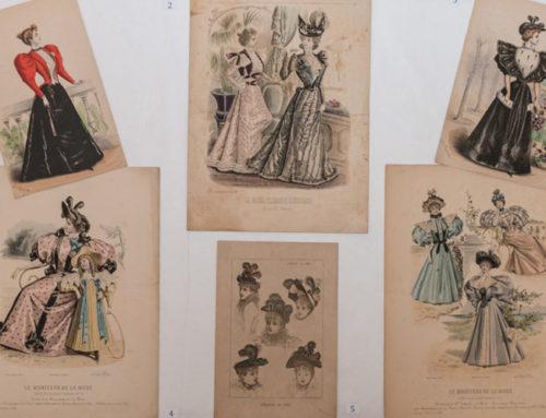 Documents singulars: làmines de moda del segle XIX