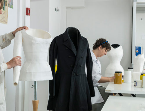 Maniquíes para vestidos de la  Casa Rossell
