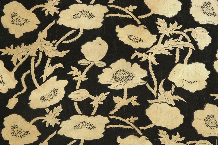 Imatge teixit motius florals