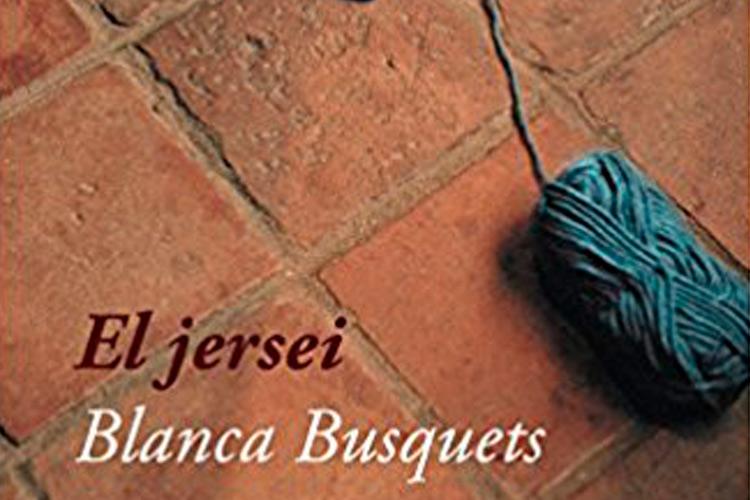 """Imatge detall portada llibre """"El jersei"""" de Blanca Busquets"""