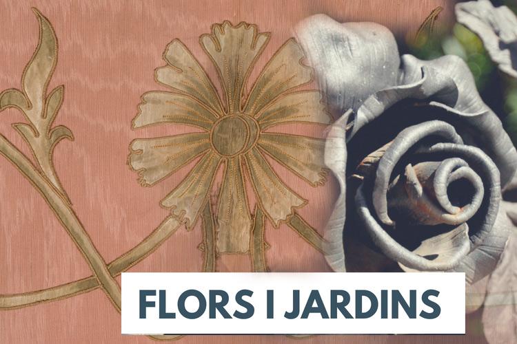 """Imatge recorregut guiat: """"Flors i jardins modernistes. La inspiració en la natura"""""""