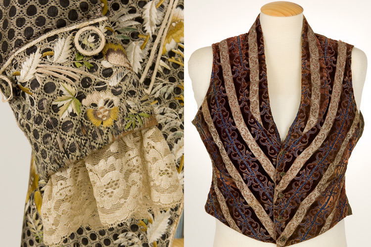 """Imatge visita """"Secrets de Museu temàtic: l'armari masculí de totes les èpoques""""."""