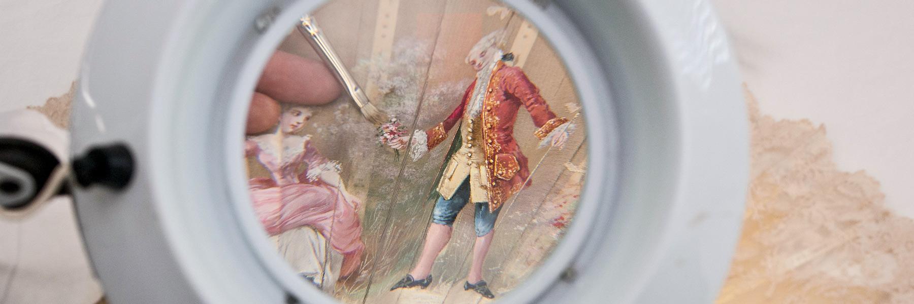 Slider imatge detall taller de restauració.