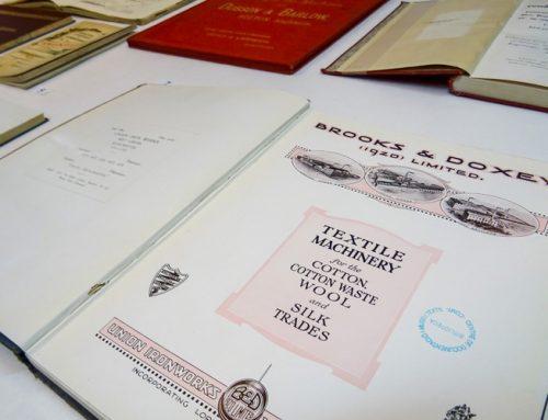 DOCUMENTOS SINGULARES DE LA BIBLIOTECA. ¡Descúbrelos! Maquinaria textil: catálogos de constructores