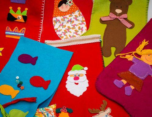Calcetines de Navidad solidarios: proyecto colaborativo