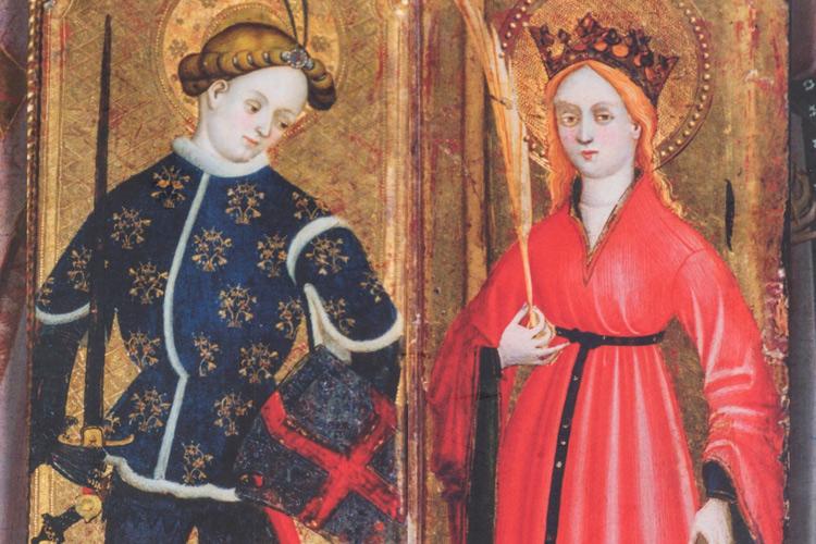 Imatge llibre La moda a la Catalunya del segle XIV.