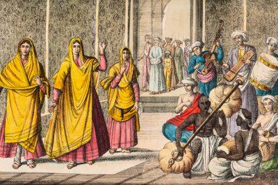 Imatge indumentària de la Índia.