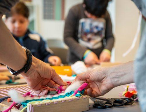 Un nuevo taller escolar que vincula textil y sostenibilidad