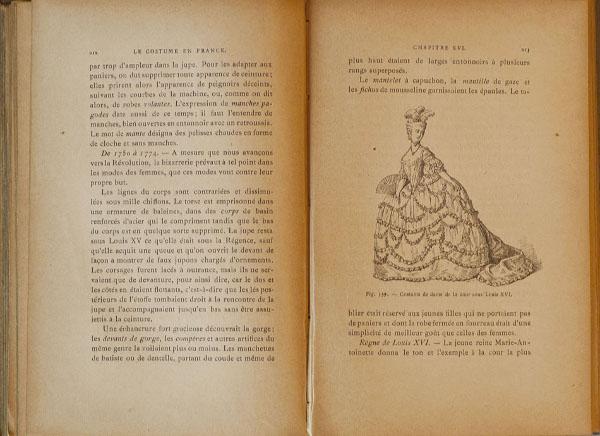 Interior de Le Costume en France (1890)