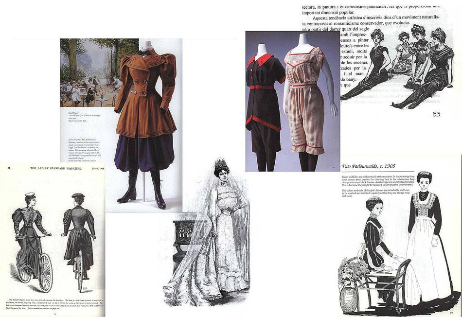 moda hombre y niño modernismo