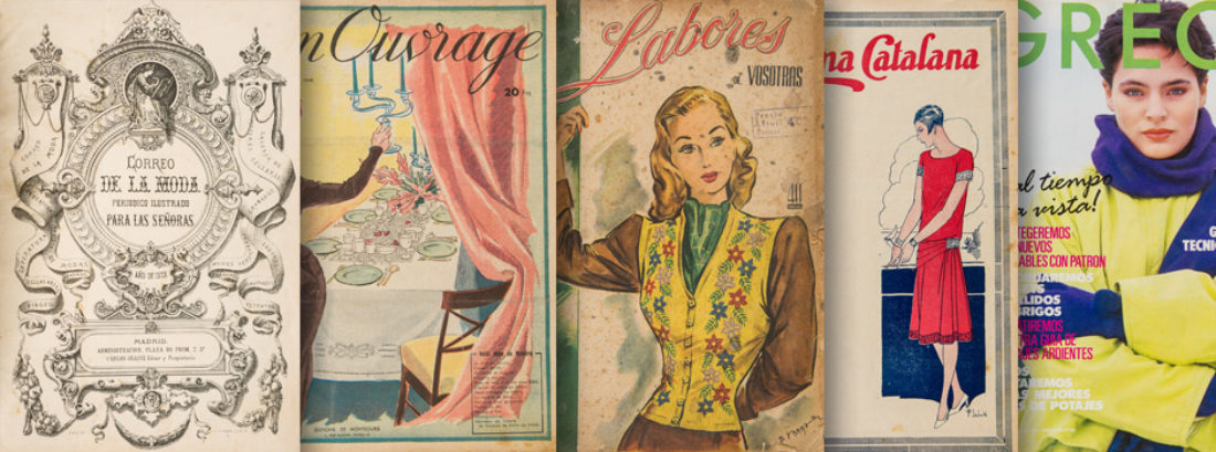 Imatge Destaquem: Publicacions femenines de labors i modes.