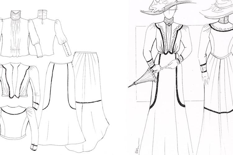 """Imatge """"Il·lustrant la moda modernista"""""""