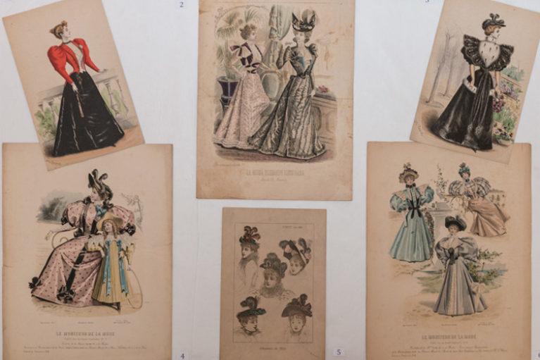 Imatge, Documents singulars: làmines de moda del segle XIX.