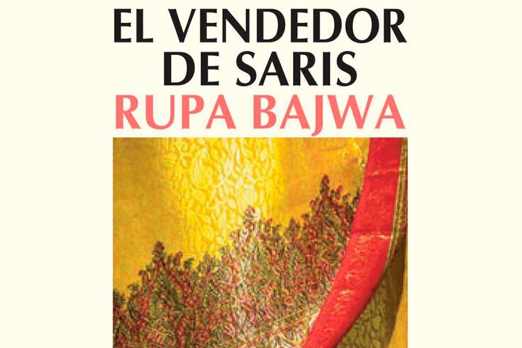 """Imatge detall portada llibre """"El vendedor de saris"""""""