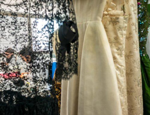Conservación-restauración de vestidos de Cristóbal Balenciaga