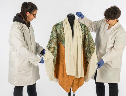 Nuevas alumnas de prácticas en el Museu Tèxtil