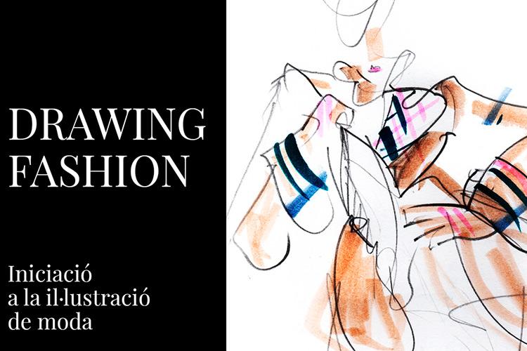 """Imatge taller: """"Drawing fashion. Iniciació a la il·lustració de moda"""""""