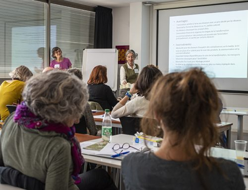 Chronicle of a wool training workshop