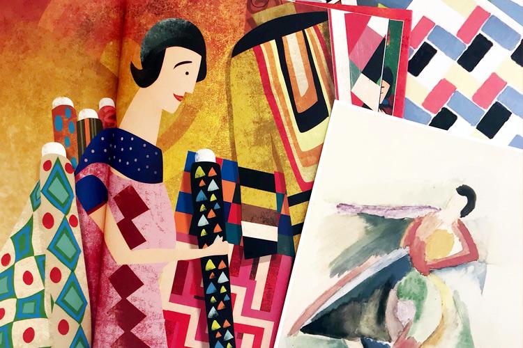 Imatge conte i taller familiar. Art i moda: els vestits de Sonia Delaunay