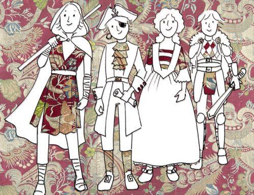 """Casal infantil de septiembre: diseñamos vestidos de """"Piratas del Caribe"""""""