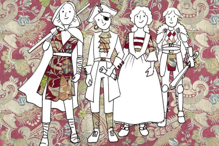"""Imatge casal infantil de setembre: dissenyem vestits de """"Pirates del Carib"""""""