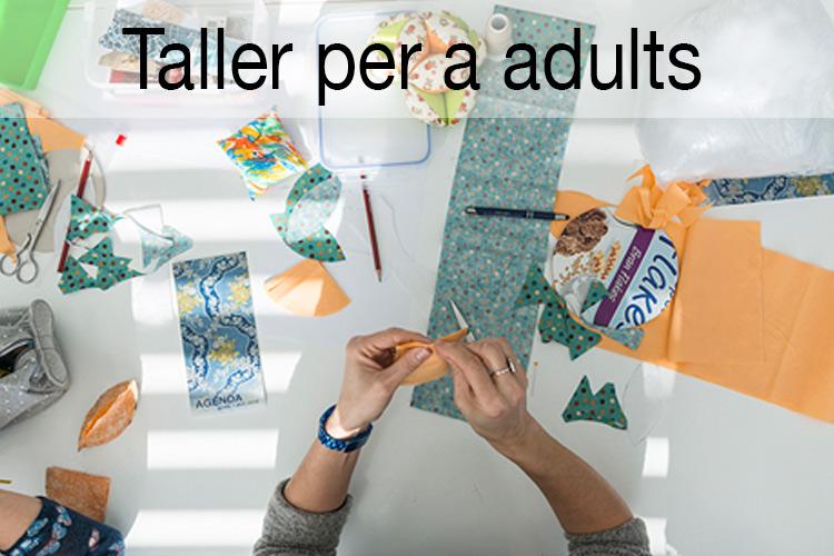 Imatge genèrica dels Tallers per a adults.