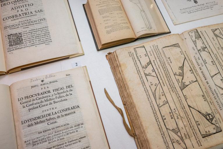 Imatge detall, Documents Singulars de la Biblioteca. Sastreria.