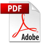 Logo document PDF.