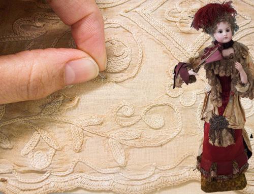 """Restauración de muñecas del Museu Romàntic de Sitges: unos juguetes """"de lujo"""""""