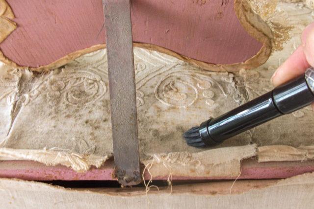 Imatge detall restauració.