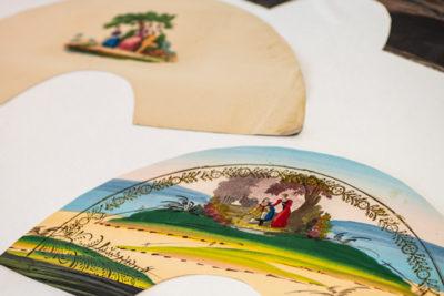 """Imatge documents singulars : """"Dibuixos per a ventalls"""""""