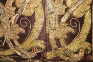 Imatge fragment d'un coixí.