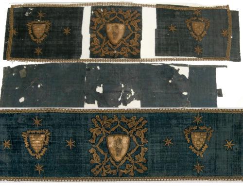 """Restauració tèxtil per a l'exposició """"Decòrum. Vestir la casa per a l'ocasió"""""""