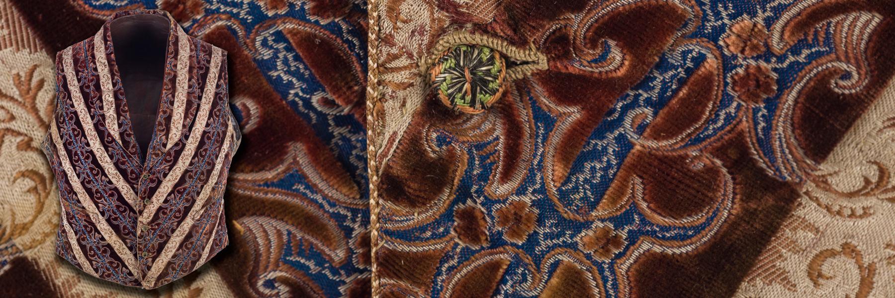 Imatge detall armilla d'home estil modernista