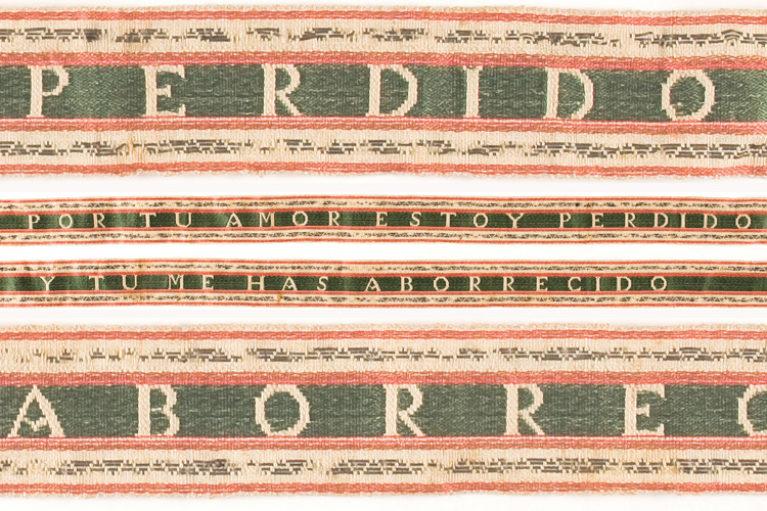 Imatge lligacames Museu Tèxtil, núm. reg. 12532.
