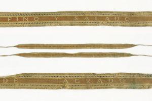 Imatge lligacames Museu Tèxtil, núm. reg. 15222.