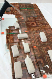 Imatge tractament d'humidificació d'un teixit.