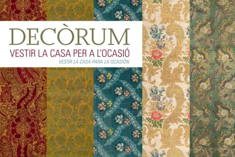 Imatge portada exposició Decòrum.