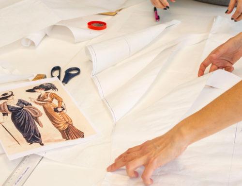 Los cursos de indumentaria del Museu Tèxtil no se detienen