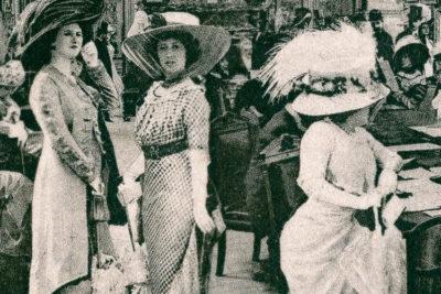 """Imatge detall portada llibre """"El Paraíso de las damas"""", de Émile Zola."""