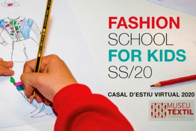 Imatge casal d'estiu en línia: Fashion School for Kids 2020.